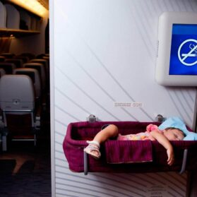 Long Haul Flights With Young Kids: Sleep On The Plane And Gear (Part 3)