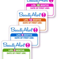 beauty alert lets you know when cosmetics expire