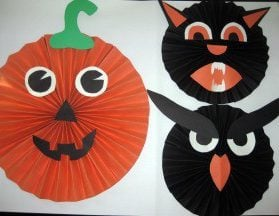Easy Hanging Halloween Decorations