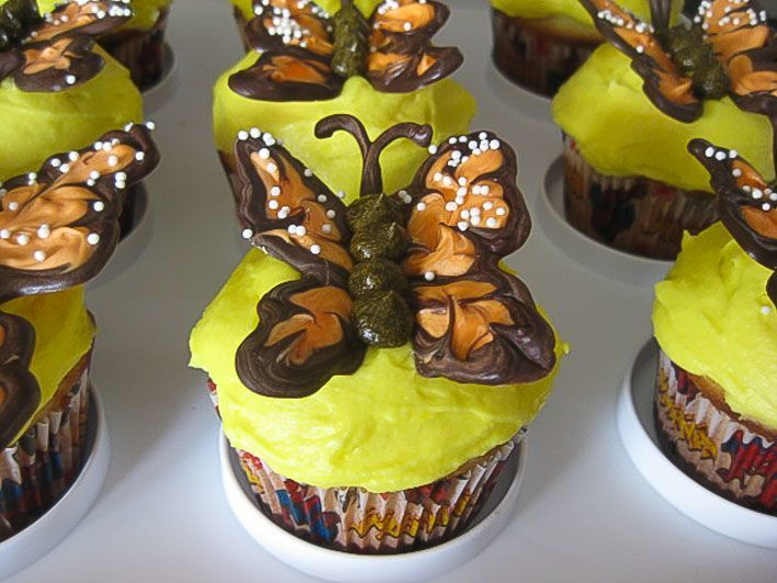 how to make butterfly cupcakes - great for kids parties