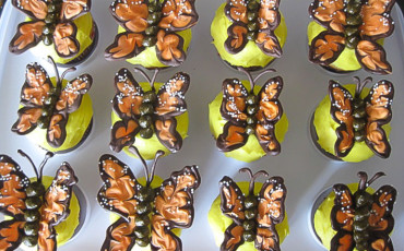 how to make butterfly cupcakes