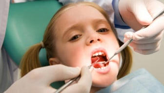 Pediatric dentist patien