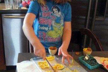 Preschooler Making Wilton Candy