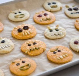 Recipes For Healthier Halloween Treats