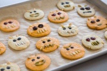 Recipe: Lemon Sugar Cookie Monsters for Halloween