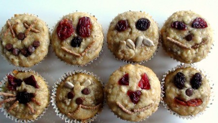 Kids Recipes: Muffins With Faces