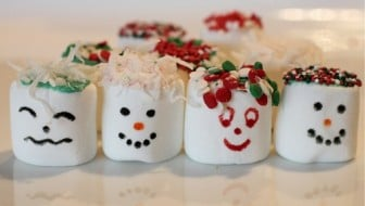 Easy Kids Craft or Recipe: Marshmallow Faces