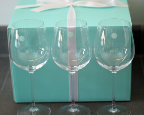 Tiffany Wine Glasses