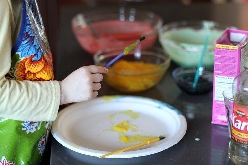 4 Homemade Finger Paint Recipes For Kids