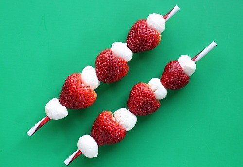 Strawberry on stick