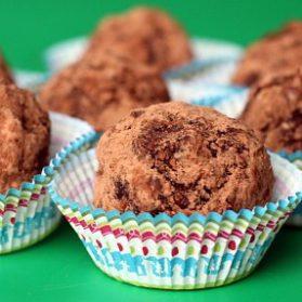Healthy No-Bake Brownie Balls