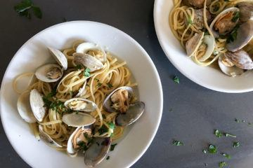 This is how you make easy linguine and clams in under 30 minutes.