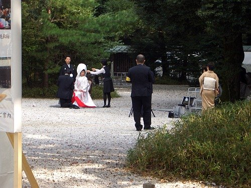 Meiji Shrine Wedding