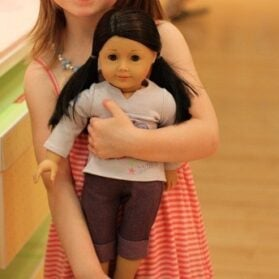 Tea At American Girl Cafe In New York City