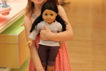 Tea at American Girl Place New York City