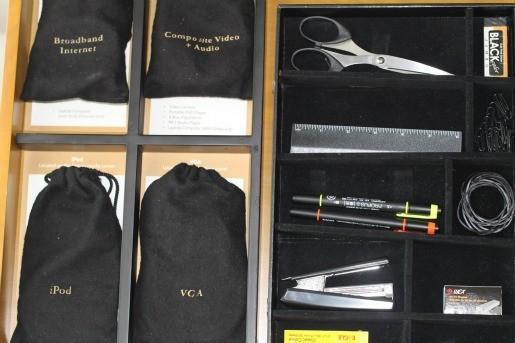 Mandarin Oriental Office Amenities