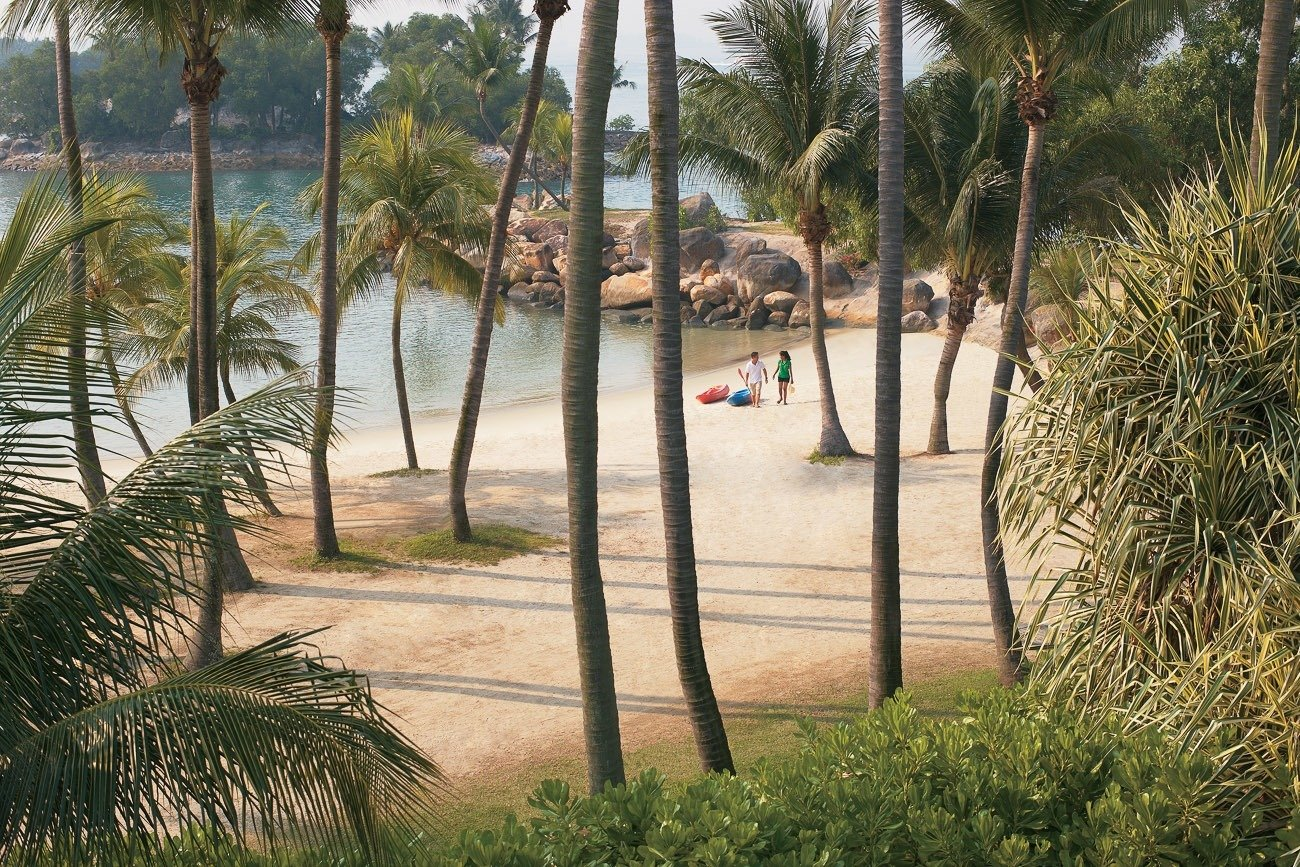 Shangri-la Rasa Sentosa Resort beach
