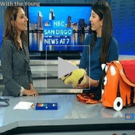 My NBC San Diego Kids Travel Segment
