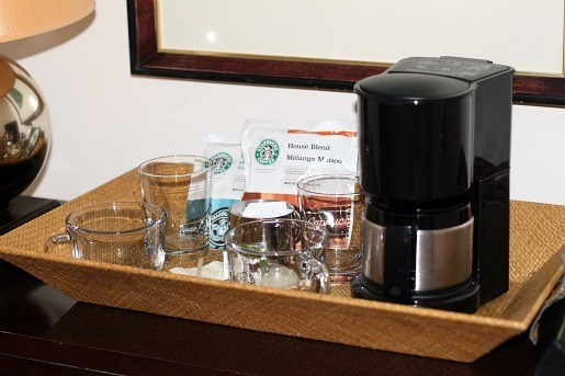 Estancia La Jolla Hotel Complimentary Coffee