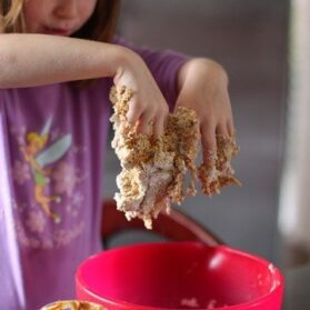 Edible Playdough: Watch Out, It's Tasty