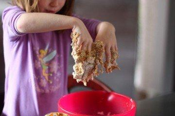 Edible play dough kids recipe