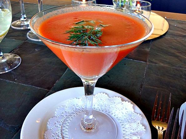 Recipe for Watermelon Gazpacho