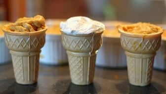 Kids Recipe: Bake Pumpkin Pie Cones