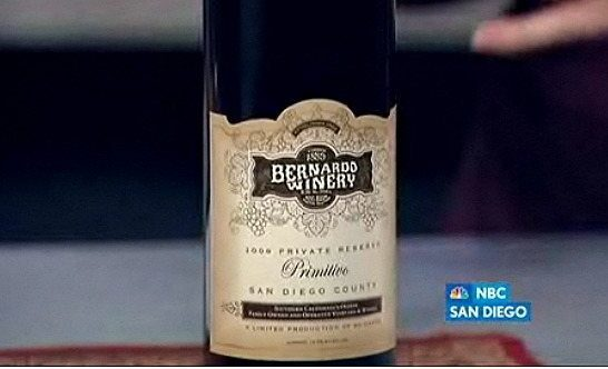 The Oldest In San Diego County:  Bernardo Winery