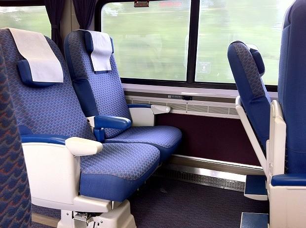 Amtrak Business Class Seats