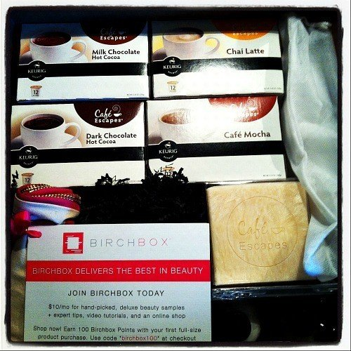 Birchbox Cafe Escapes
