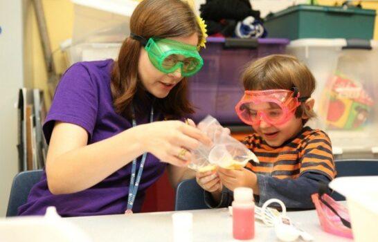 """Reuben H. Fleet """"Young Scientists"""" Program For Preschoolers"""