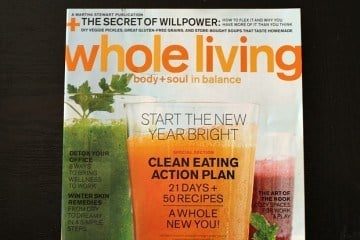 Whole Living Magazine Action Plan