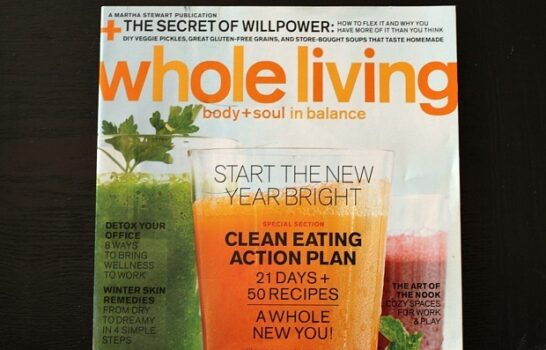 3-Day Juice Cleanse Too Hard? Try The Whole Living Action Plan (Week 1) Instead.