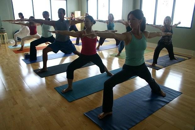Prana Yoga La Jolla Warrior Pose