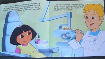 Dora the Explorer Dentist Book