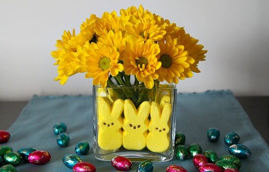 Let Your Kids Decorate Your House For Easter With Peeps