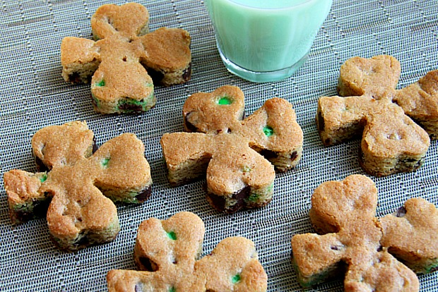 Shamrock Cookies St Patrick's Day Dessert