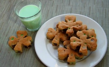 St. Patrick's Day Shamrock Cookies