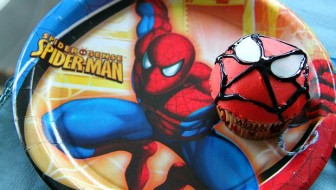 Kids Spiderman Cupcakes
