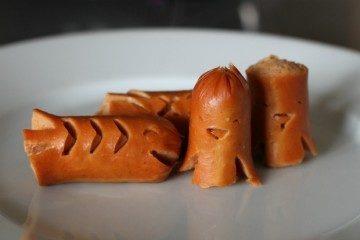 Kids Bento Hot Dogs