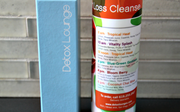 Detox Lounge Juice Cleanse