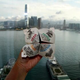 Kids Crafts:  How To Make A Paper Fortune Teller