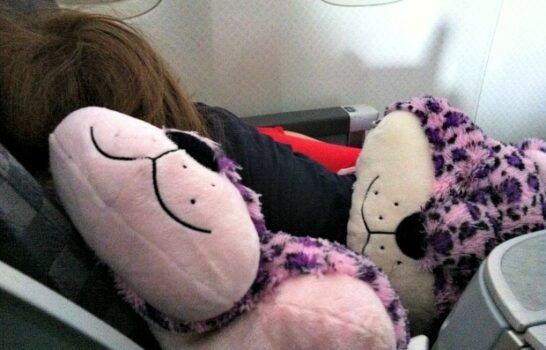 Flying With Kids: My Pillow Pets Make Air Travel MUCH Easier