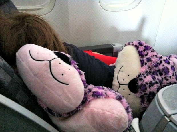 flying with kids my pillow pet makes air travel much easier. Black Bedroom Furniture Sets. Home Design Ideas