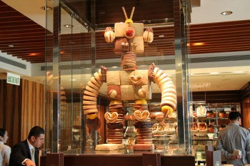 Robot Cake Mandarin Oriental Hong Kong Cake Shop