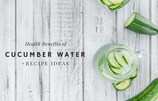 14 Health Benefits of Cucumber Water