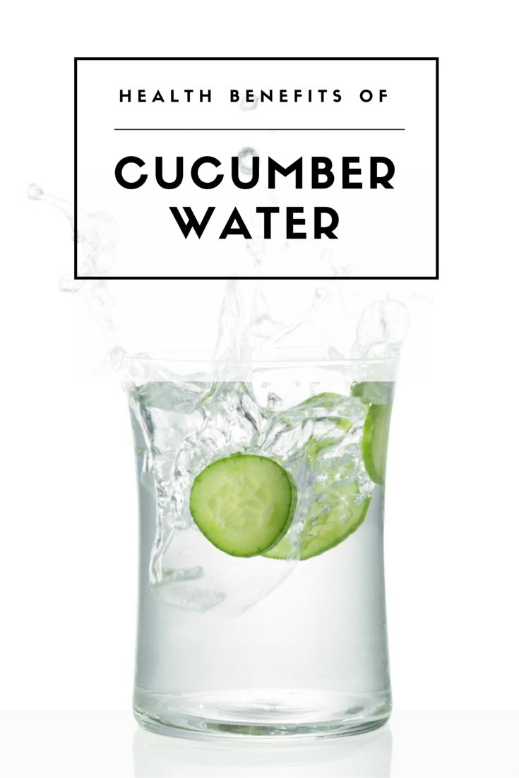 Cucumber water does have some slight health benefits and can be a great addition to a clean eating diet.