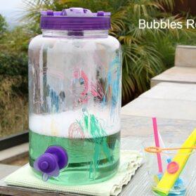 Easy Homemade Bubbles Recipe