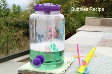 homemade DIY Bubbles Recipe