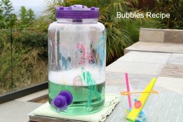 homemade DIY Bubbles Recipe